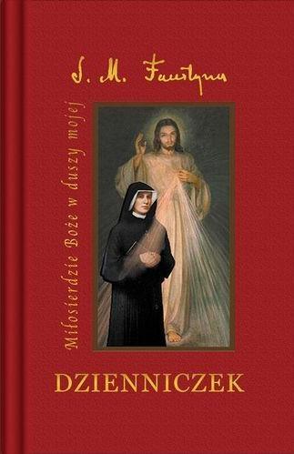 Dzienniczek s. Faustyny – duży format, twrada okładka