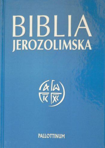 BIBLIA JEROZOLIMSKA (BEZ PAGINATORÓW)