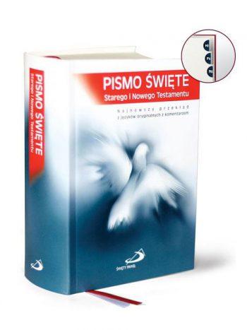 Pismo Święte ST i NT (mały format, opr. tw. + pag.)