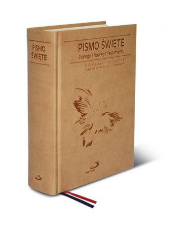 Pismo Święte Stary Testament i Nowy Testament (paginator, kolorowa opr.)