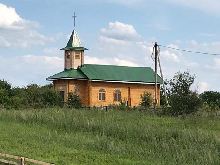 Kościół w syberyjskim Białymstoku odbudowany ❤